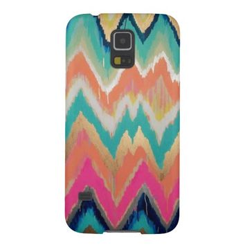 WaterColor Chevron Stripe Pattern Samsung Galaxy S5 Case