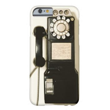 Vintage Pay Phone Telephone iPhone 6 case