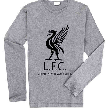 Liverpool Fc logo ynwa for Long Sleeved Mens and Long Sleeved Girls T Shirt