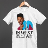 WEST SIDE   Fitted T-shirt   Skreened