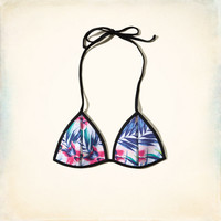 Neoprene Triangle Swim Top