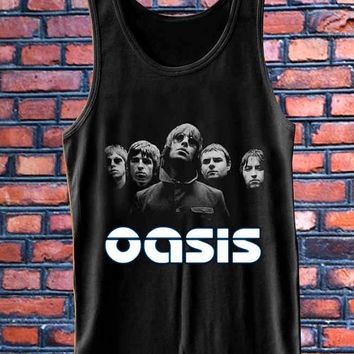 oasis personal band  best Tank Top Mens and Girls