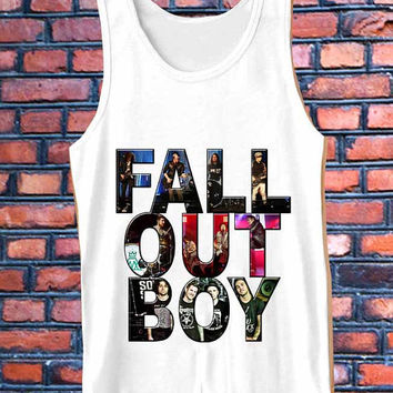 FALL OUT BOY best Tank Top Mens and Girls
