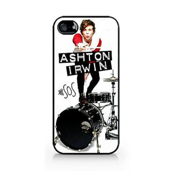 IPC-244 - Ashton Irwin - Ash - 5SOS - 5 Seconds of Summer - iPhone 4 / 4S / 5 / 5C / 5S