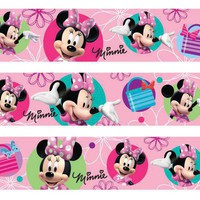 Minnie Mouse Edible Image Cake Borders by DecoPac 3 Strips by SweetnTreats on Zibbet