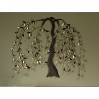 Cape Craftsmen Willow Metal Wall Art - 6AWD63004