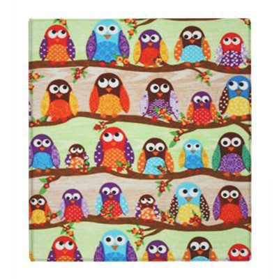 Funky Owls 3 Ring Binder from Zazzle.com