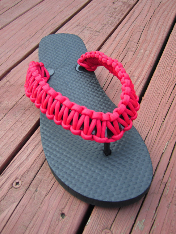 custom paracord flip flop from essencebytiffany on etsy my