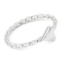 Stackable Triangle Mid Ring | Sotrendee Inc.