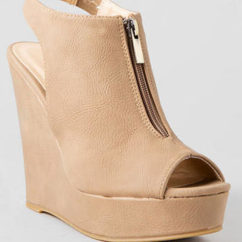 CHINESE LAUNDRY SHOES, DYNASTY ZIP WEDGE