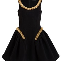 SIMONE ROCHA | Embellished Wool-blend Dress | Browns fashion & designer clothes & clothing