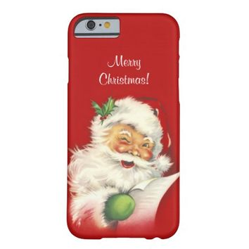 Santa Vintage iPhone 6 case