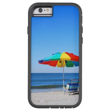 Ocean and beach scene iPhone 6 Case