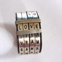 Supermarket: love ring from  : metalnat : by natalia gomensoro