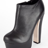 ZiGi Jordan Platform Booties in Black :: tobi