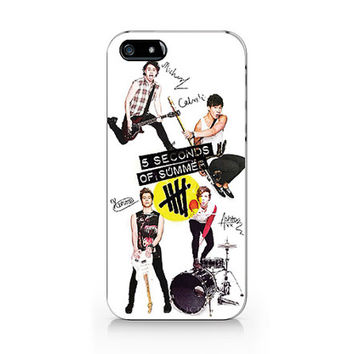 5 Seconds of summer, 5SOS  iPhone 5 5S case, iPhone 4 4S case, Free shipping M354
