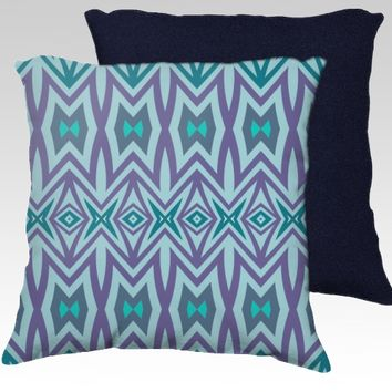 Blue Pillow by Ornaart (18x18 pillow)
