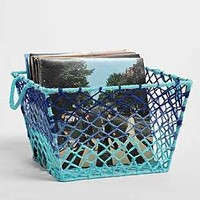 Gradient Macrame Storage Basket - Urban Outfitters