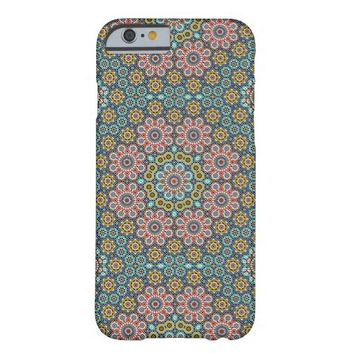 Wild Flowers Mosaic pattern iPhone 6 case