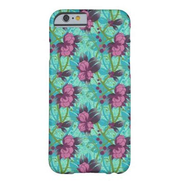 Pink Wild Flowers iPhone 6 case