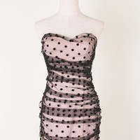 Polka Dots Tulle Dress