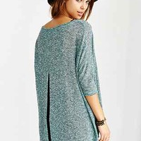 Silence + Noise Split-Back Pullover Sweater - Urban Outfitters
