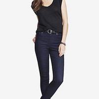 HIGH RISE ANKLE JEAN LEGGING from EXPRESS