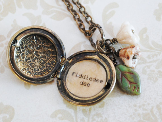 Gone With the Wind - Women's Locket - Fiddledee dee