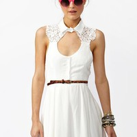 Aster Lace Dress - Ivory