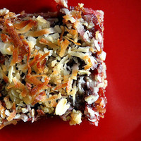 A Cup of Sugar ? A Pinch of Salt » Oatmeal Coconut Raspberry Bars
