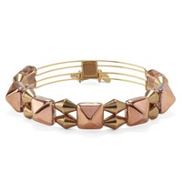 Copper Impulse Beaded Bangle