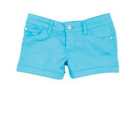 Sateen Shorts in Blue Atoll