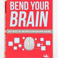 Bend Your Brain: 151 Puzzles, Tips, And Tricks To Blow (And Grow) Your Mind By Marbles: The Brain Store - Urban Outfitters