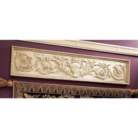 Design Toscano Horizontal San Galgano Wall Pediment - NG33631