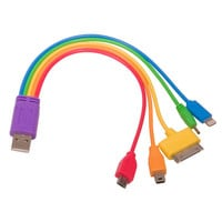 Rainbow 5-in-1 USB Adaptor Cable — Walker Shop
