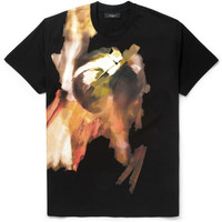 Givenchy - Columbian-Fit Abstract-Print Cotton T-Shirt | MR PORTER