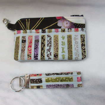 Drawstring bag comes with small zipper pouch along with Key Chain as a bonus.