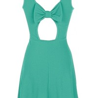 Bow Back Skater Dress