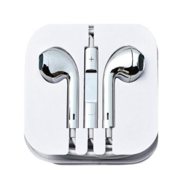 Thinkcase New Gold Earphones Headphones Earbud Volume Remote+Mic For iPhone4 4S 5 5c iPad2 3 ipod others device 03#