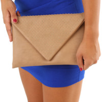 Never Gonna Come Down Clutch: Camel/Gold