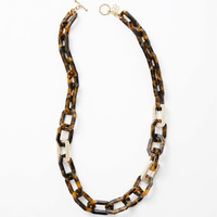 Gallery Long Link Necklace