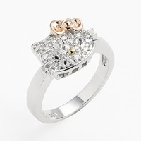Hello Kitty Pave Diamond Ring (Nordstrom Exclusive)
