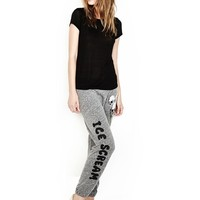 Lauren Moshi JAZZY JERSEY SWEATPANT IN HEATHER GREY | Boutique To You