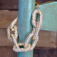 Iced Out Chain Link Bracelet