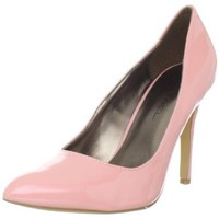 C LABEL Women`s Tera-1 Pump,Pink,7 M US