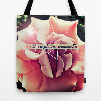The Hopeless Romantic Tote Bag by DuckyB (Brandi)