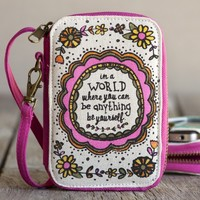 Be  Yourself  Art  &  Soul  Wristlet  From  Natural  Life