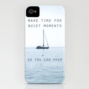 Stillness iPhone Case by Belle13 | Society6