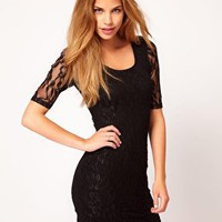 Rare Lace Dress at asos.com
