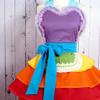 Fairy Rainbow Princess Ballerina Apron - in stock